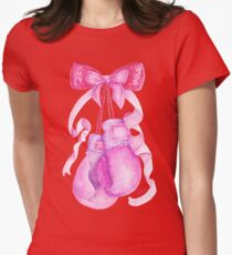 Cute & Strong Womens Fitted T-Shirt