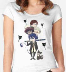 Blue Exorcist Women's Fitted Scoop T-Shirt