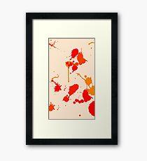 Splash Art  Framed Print