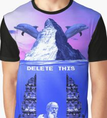 Delete This Graphic T-Shirt