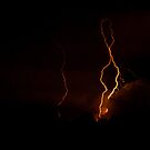 Trio of Lightning Bolts by Henry Plumley