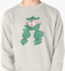 Teal Haired Girl Pullover