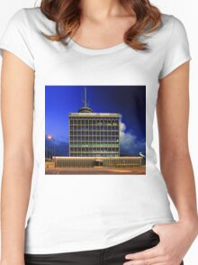 Fremantle Port Authority Building  Women's Fitted Scoop T-Shirt