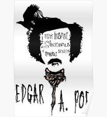 Edgar Allan Poe art-aphorism  Poster