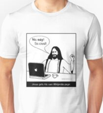 Jesus gets His own Wikipedia page T-Shirt