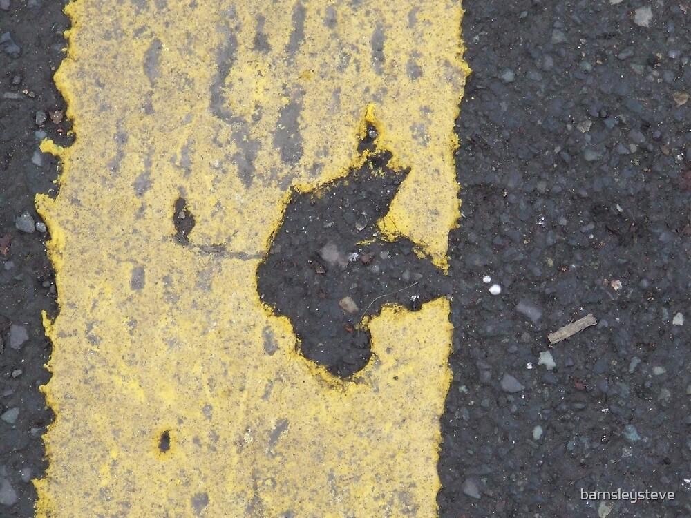 yellow line leaf by barnsleysteve