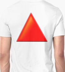 RED, TRIANGLE T-Shirt