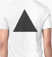 TRIANGLE, BLACK, with slight bevel T-Shirt