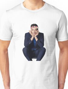 Jimmy with a Flower Crown pt. 2 Unisex T-Shirt