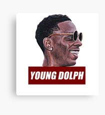 Young dolph Canvas Print