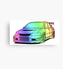 Mitsubishi Lance Evo 8 Canvas Print