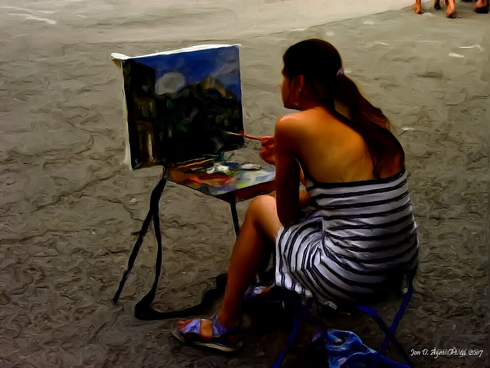 Artist to Artist2 by Jon Ayres