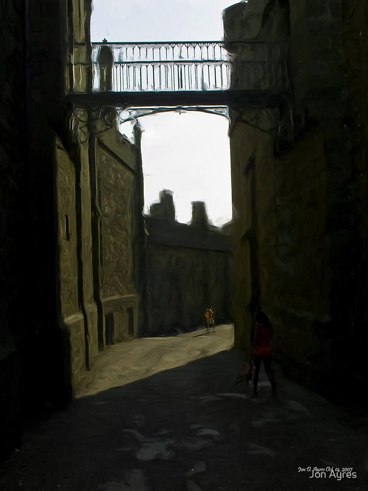 Inside Shuvalovskiy passage by Jon Ayres