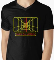 Stay on Target Men's V-Neck T-Shirt