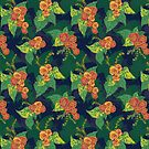 Tropical Begonia Floral by lottibrown