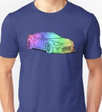 Subaru BRZ/ Toyota GT86 colourful T-Shirt