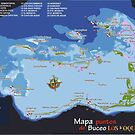 «Los Roques Dive Map» de losroquesdive