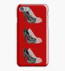 Red Heel Shoes iPhone Case/Skin