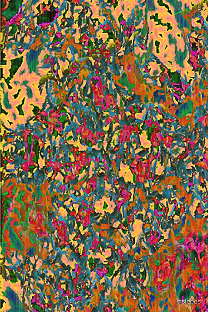Tapestry In Orange by msleeds