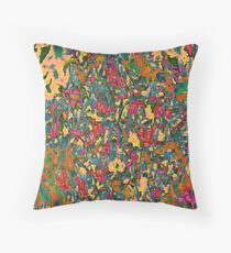 Tapestry In Orange Throw Pillow