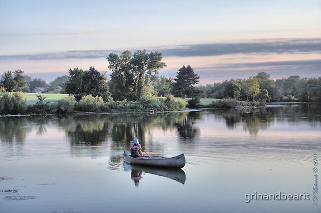 Peaceful by grinandbearit