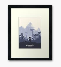 Zero Dawn Framed Print