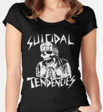 Suicidal Tendencies Tailliertes Rundhals-Shirt