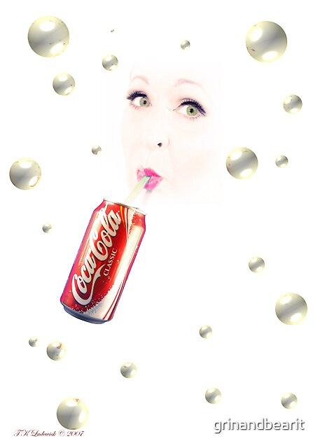 Soda Bubbles by grinandbearit