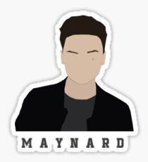 Maynard. Sticker