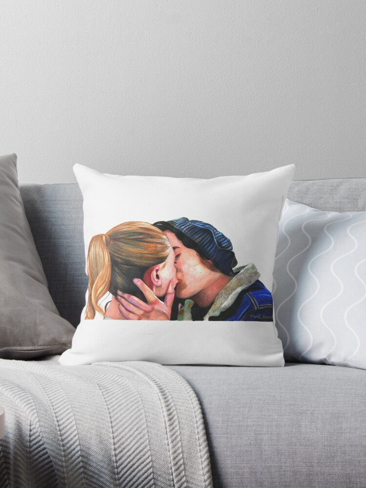 Jughead Jones Betty Cooper From Riverdale Throw Pillows By