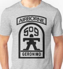 509th Infantry stencil Unisex T-Shirt