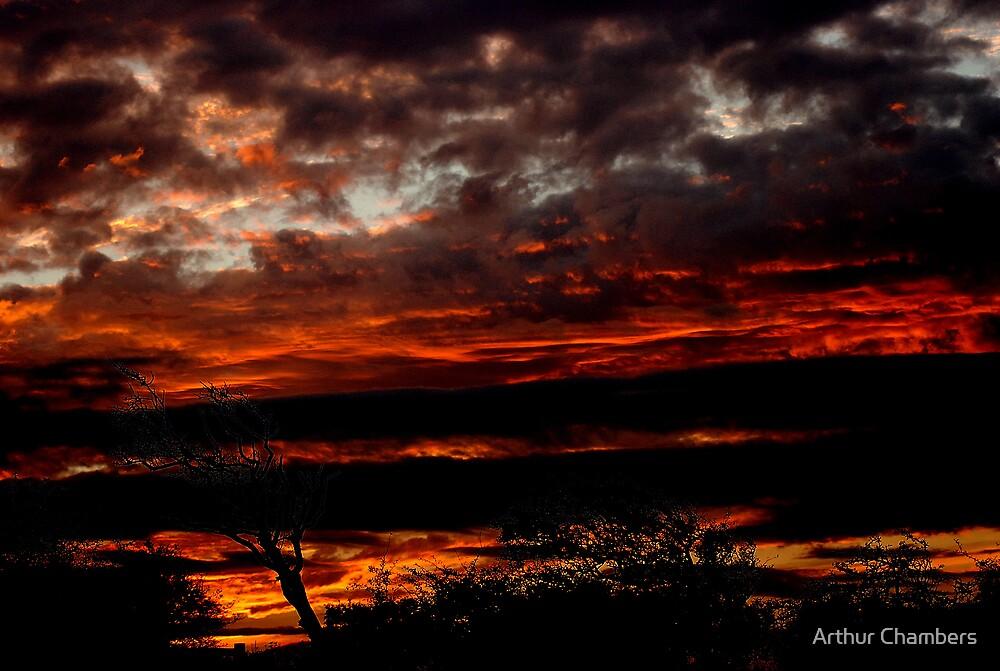 Border sky........... by Arthur Chambers