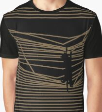 Get Off Now! Cats & Curtains Graphic T-Shirt