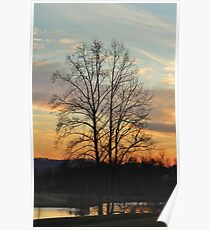 A Cold Sunset Poster