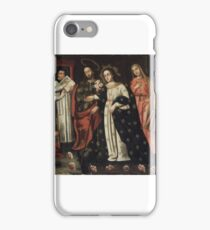 Unknown. Wedding of Mary and Joseph, late 17th century. iPhone Case/Skin
