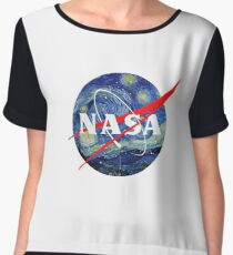 NASA Women's Chiffon Top