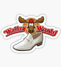 NATIONAL LAMPOONS VACATION - COUSIN EDDIE WHITE SHOES Sticker