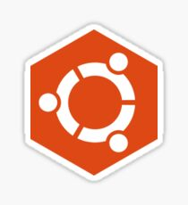 Ubuntu Hex sticker Sticker