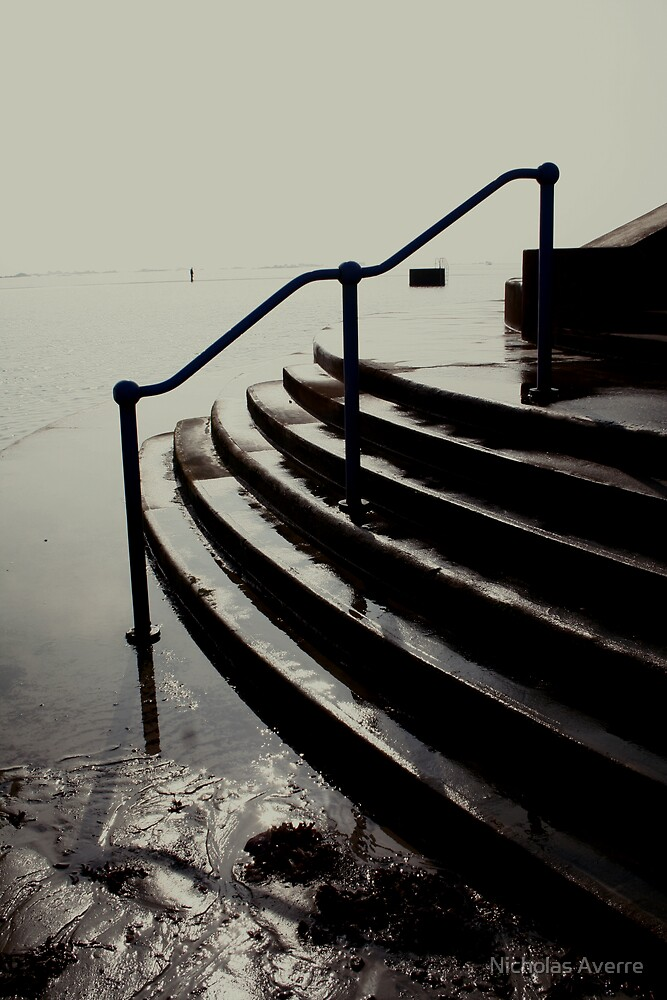 The Lido steps by Nicholas Averre