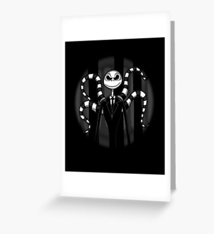 Slender Jack Greeting Card
