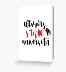Illinois State University Greeting Card