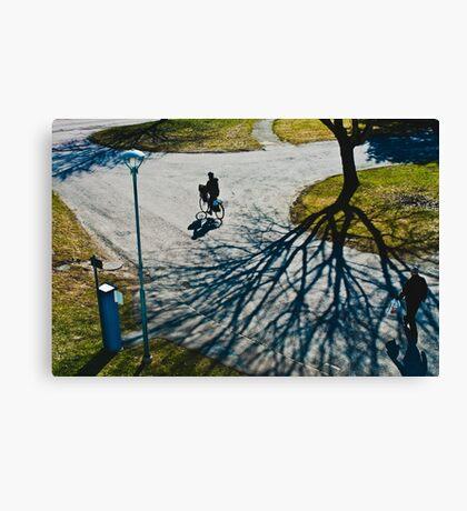 Spring in Karlstad Canvas Print