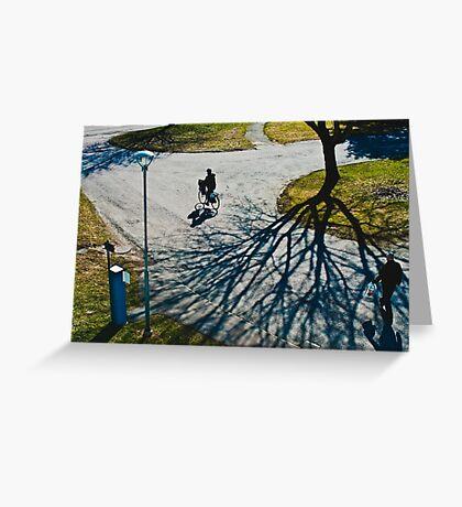 Spring in Karlstad Greeting Card
