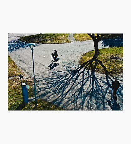 Spring in Karlstad Photographic Print