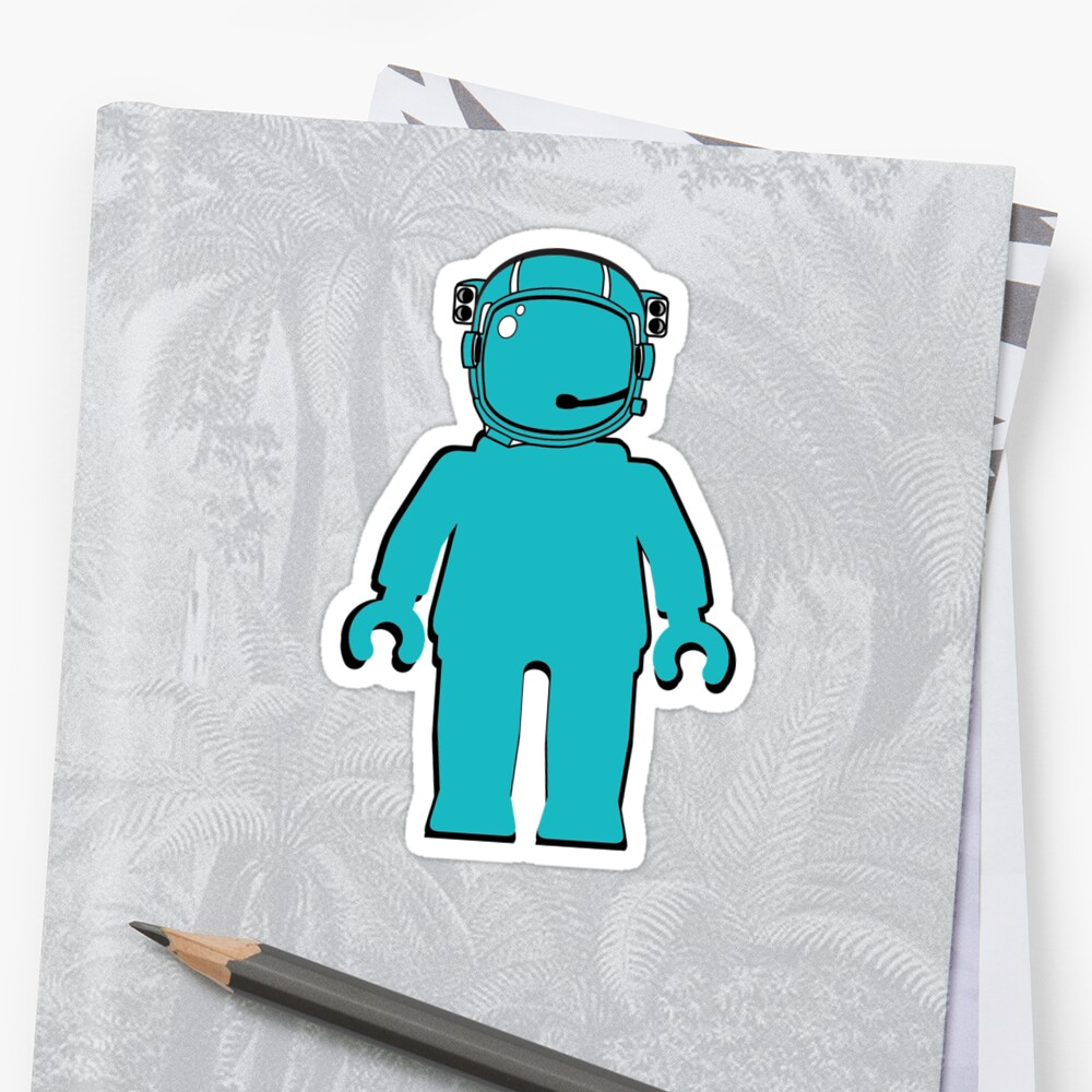 Banksy Style Astronaut Minifigure by ChilleeW