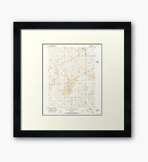 USGS TOPO Map Colorado CO Omar 233991 1951 24000 Framed Print