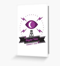 night vale Greeting Card