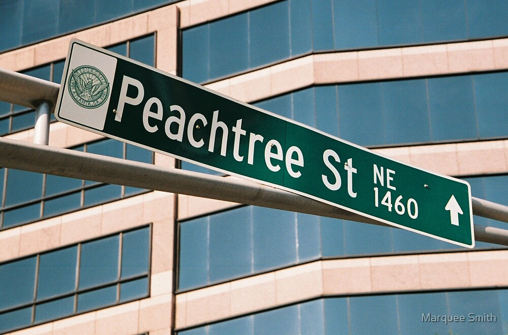 Peachtree Street by Marquee Smith
