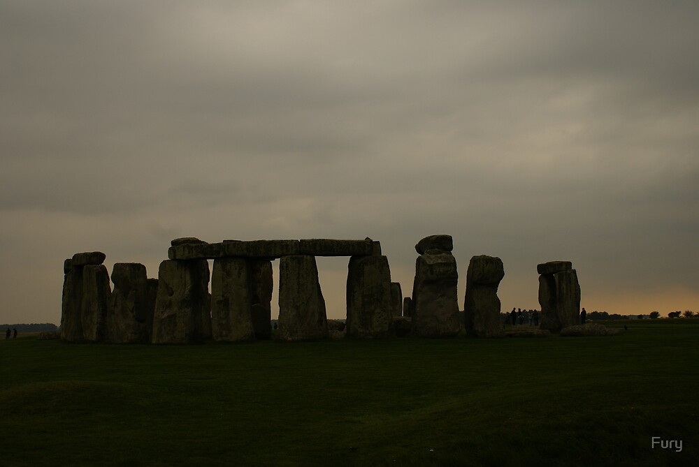 Stonehenge Sunset by Fury