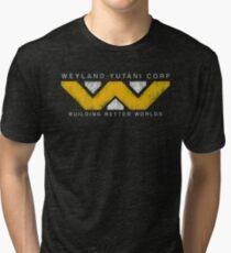 Weyland Yutani - Grunge Tri-blend T-Shirt